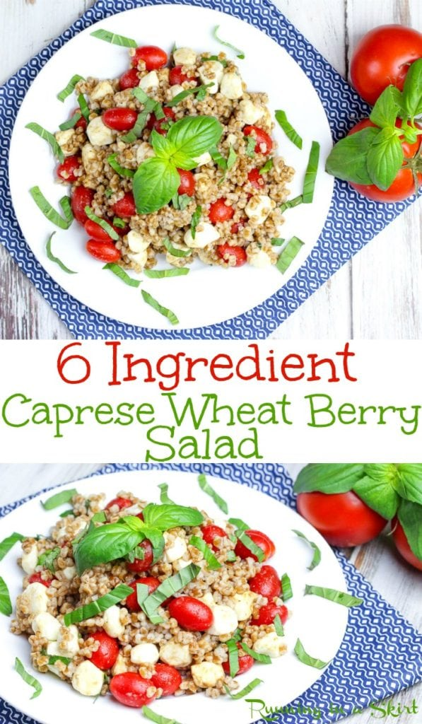 Caprese Wheat Berry Salad recipe