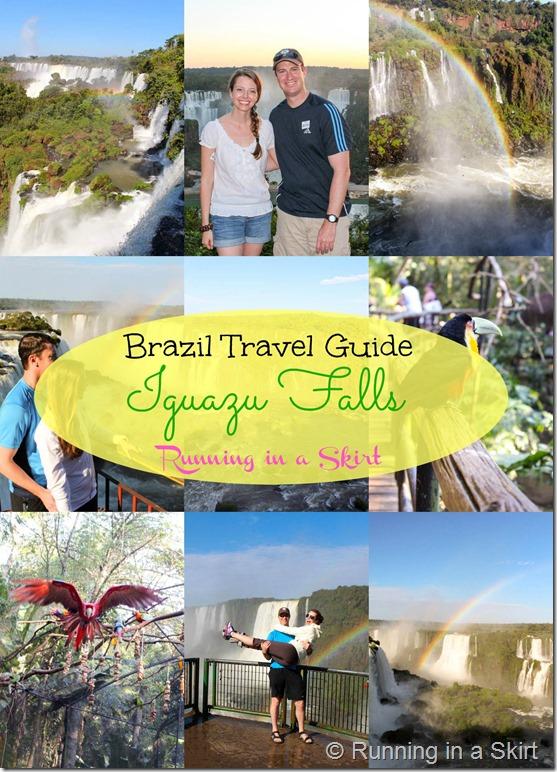 Iguazu falls pin