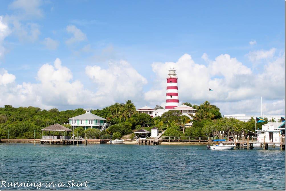 Elbow Cay Bahamas Hope Town Lighthouse