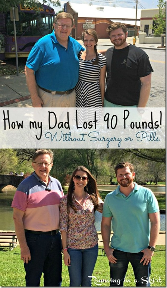 How my Dad Lost 100 Pounds with No Gimmicks