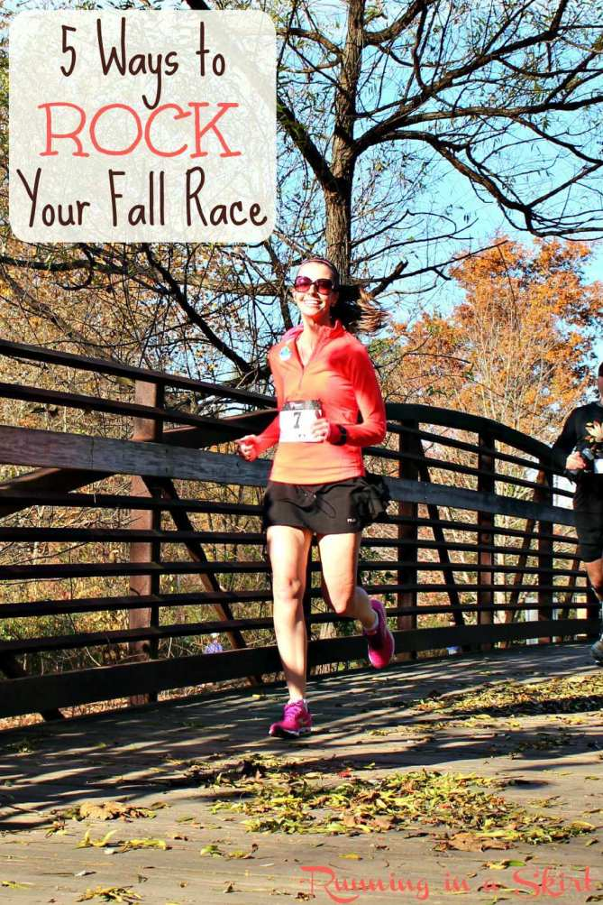 5 Ways to Rock Your Fall Race