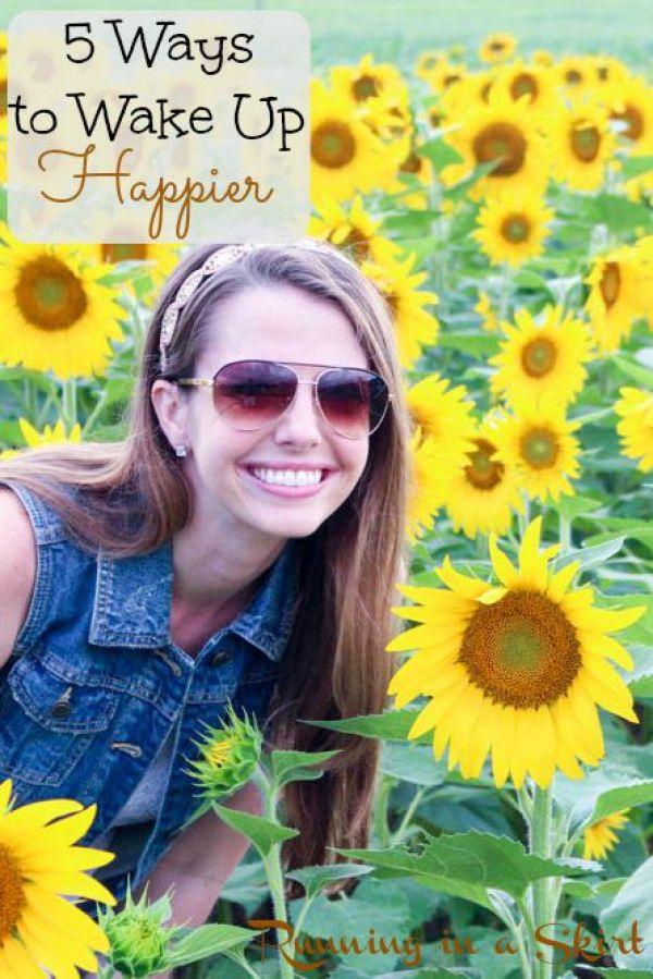 5 Ways to Wake Up Happier