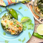 Vegetarian Stuffed Poblano Peppers - quinoa stuffed vegetarian meal!/ Running in a Skirt