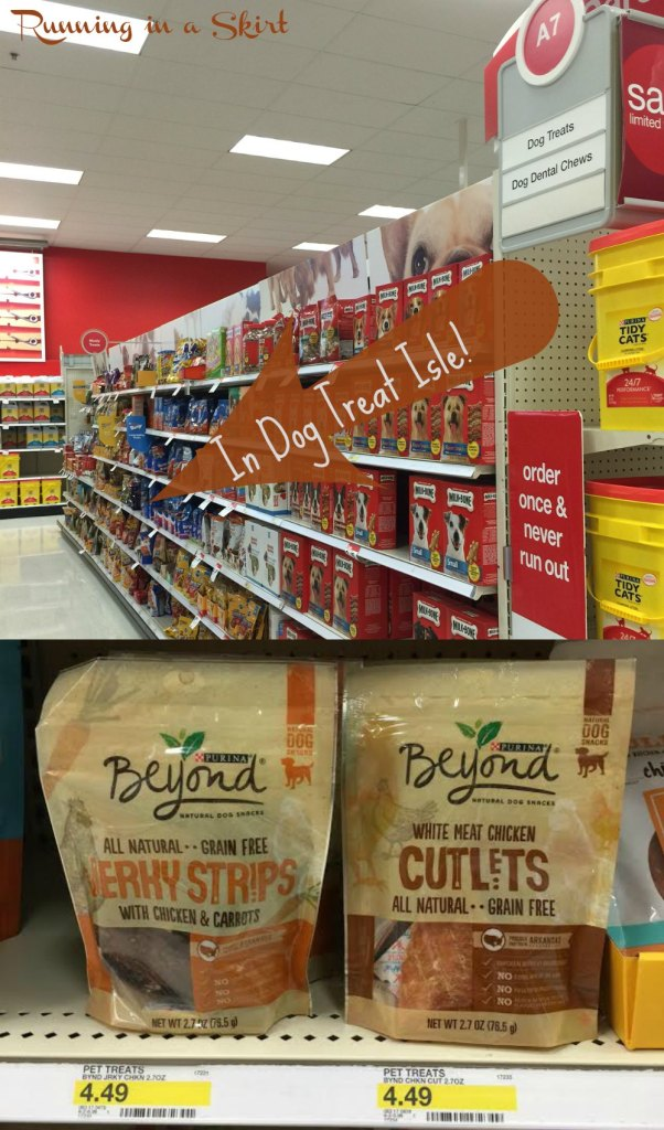 Find Purina Beyond in the Dog Treat Isle of Target