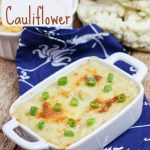 Don't let potatoes have all the fun! Try my Parmesan Garlic Mashed Cauliflower recipe! / Running in a Skirt