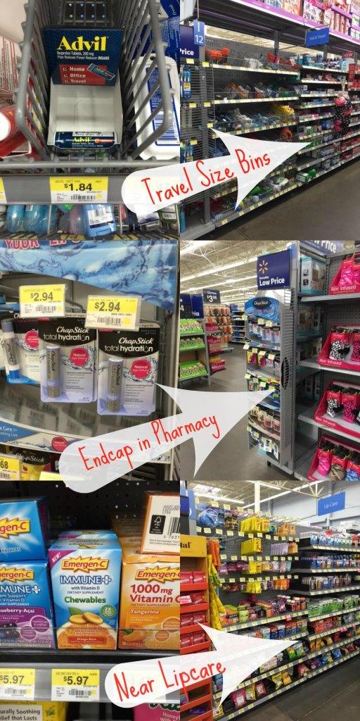 Purse Essentials Walmart Isle