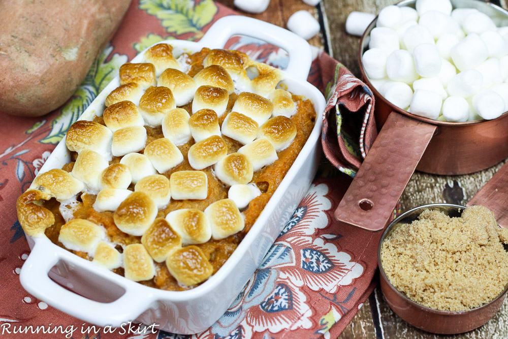 Mom's Famous Sweet Potato Casserole