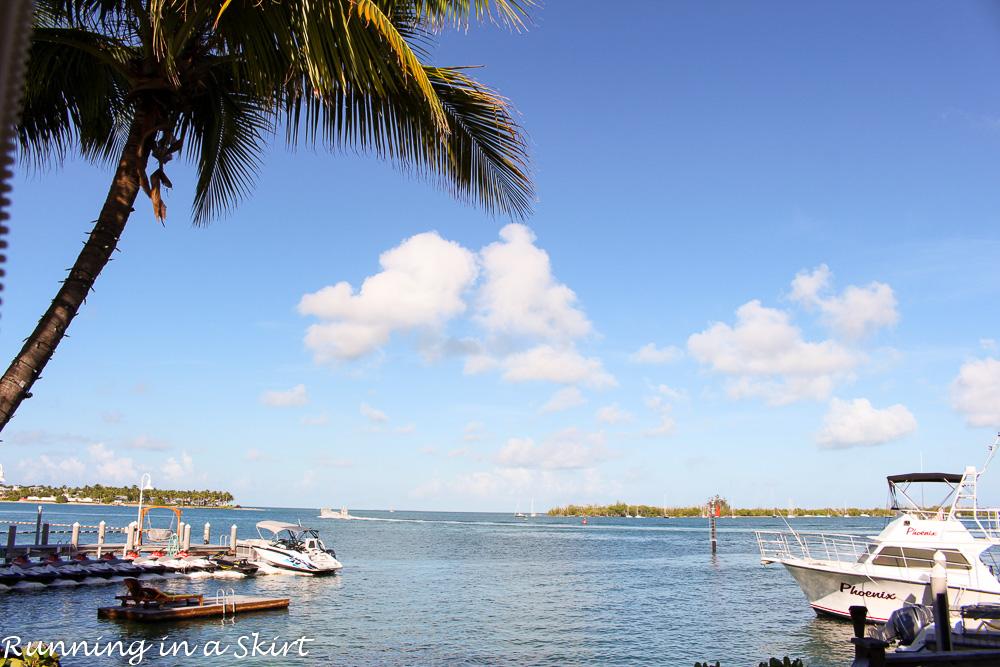 Key West Breakfast View