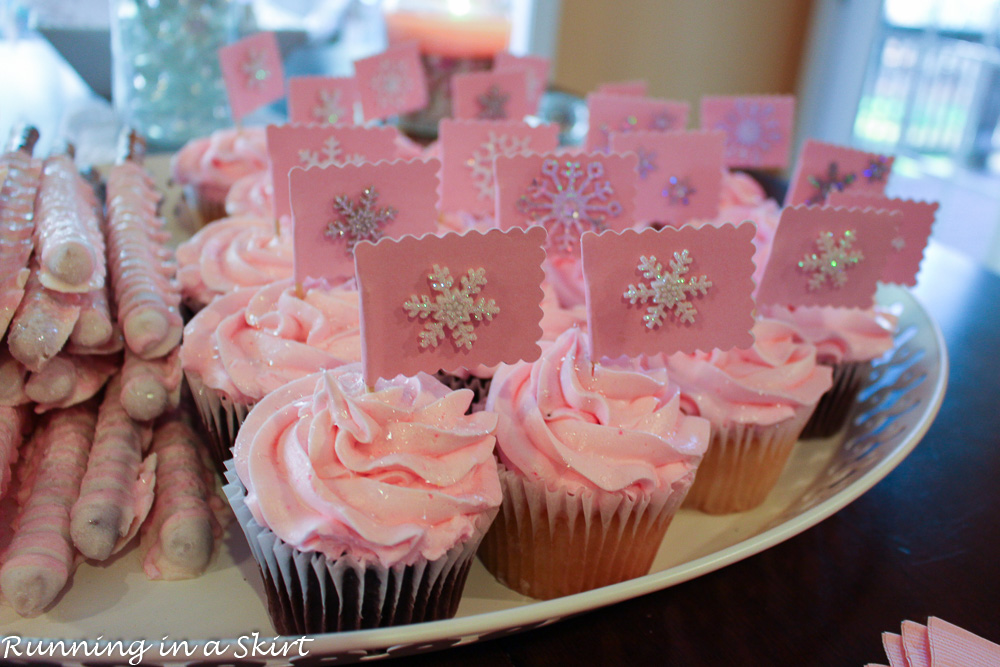 Baby It's Cold Outside Girl Baby Shower or Sprinkle