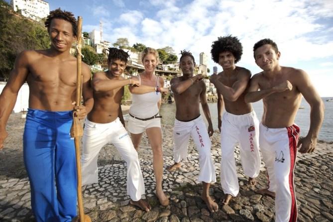 Ovation TV Rachel Hunter Brazil Capoeira