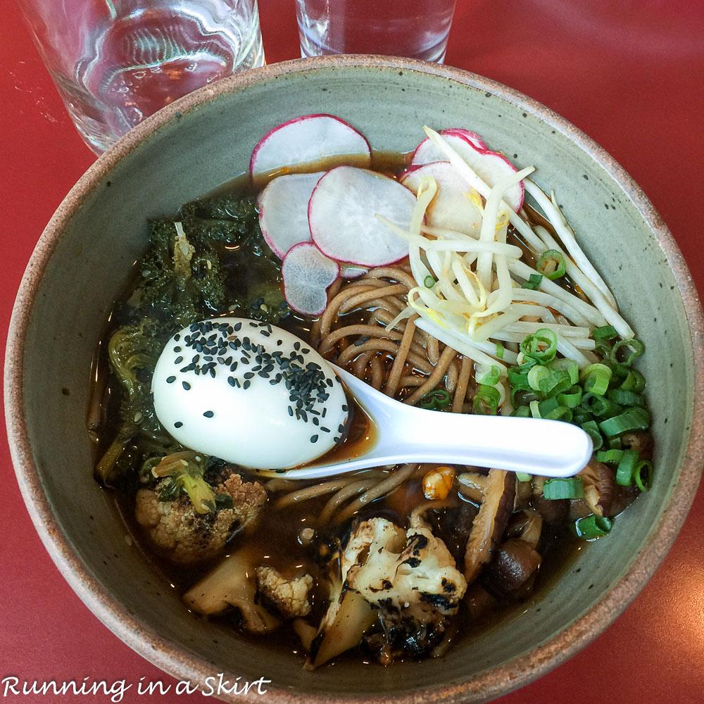 Gan Shan Station Vegetarian Ramen Bowl