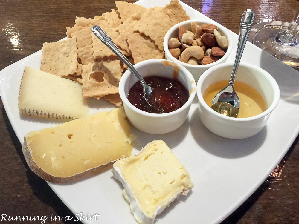 Cedric's Tavern Cheese Plate