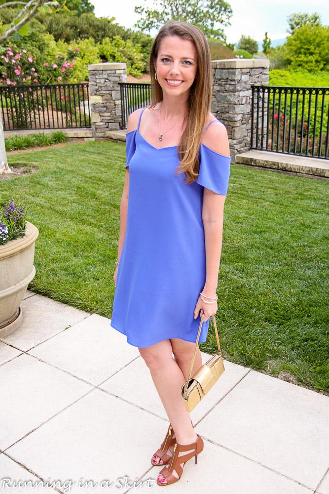 Off the Shoulder Lavender Dress-16-1