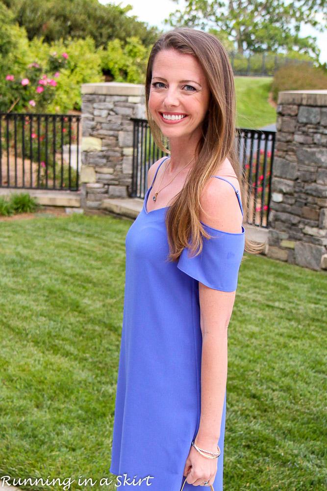 Off the Shoulder Lavender Dress-24-3