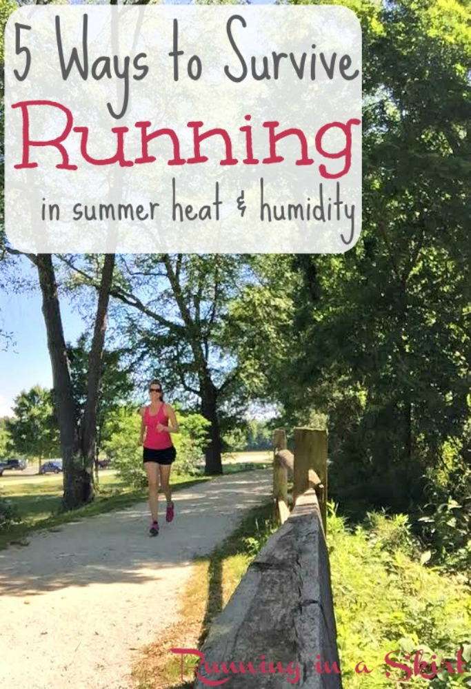 5 Ways to Survive Running in Heat & Humidity