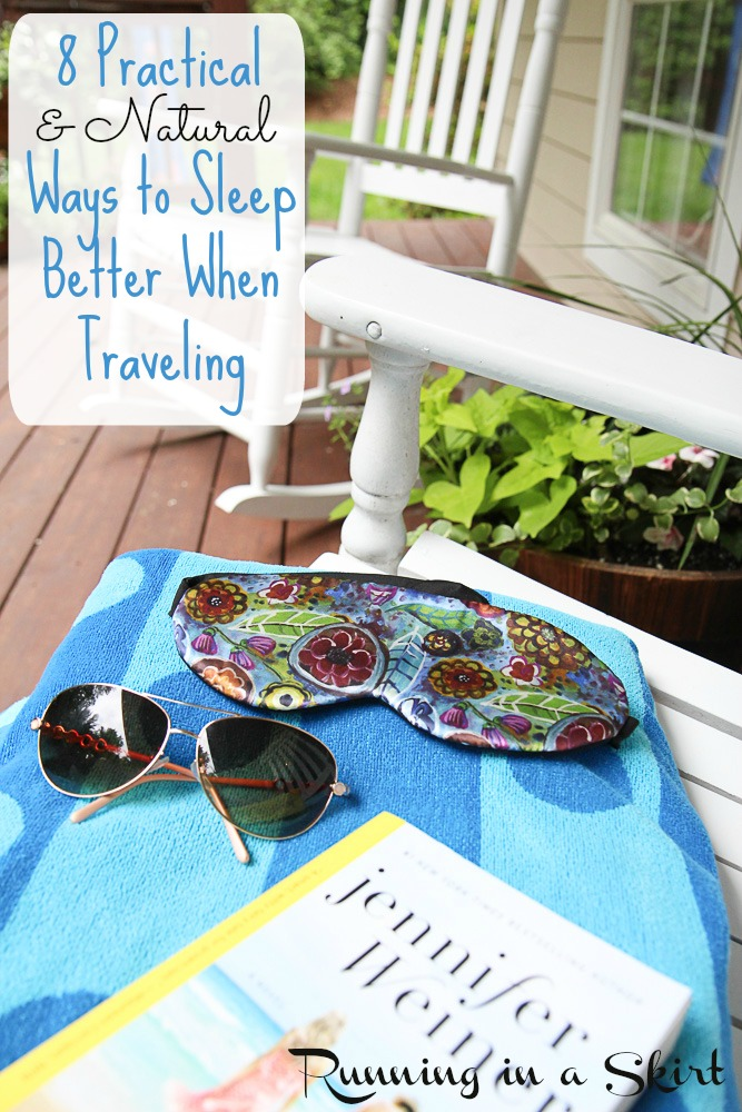 8 Practical and Natural (Drug free!) Ways to Sleep Better When Traveling, avoiding jet lag & Sleep Swag
