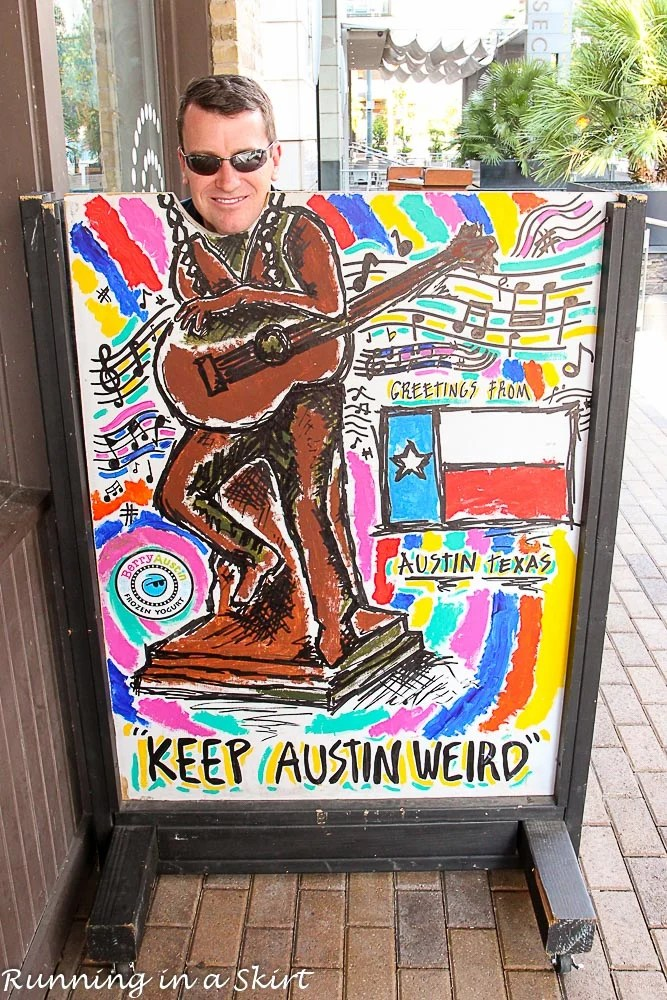 Keep Austin Weird Sign