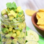 6 Ingredient Mango and Avocado Salsa recipe