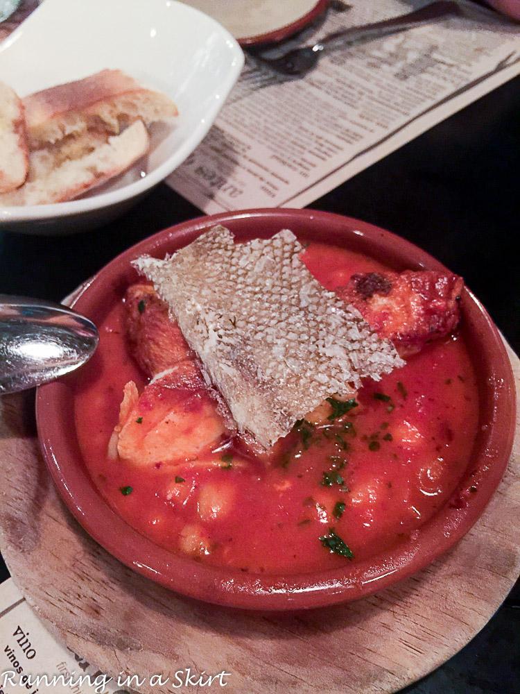 curate fish dish