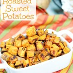 Maple Roasted Sweet Potatoes recipe / Running in a Skirt