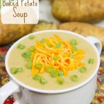 Crock Pot Vegetarian Potato Soup recipe / Running in a Skirt