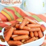 No Butter Crock Pot Honey Glazed Carrots recipe/ Running in a Skirt