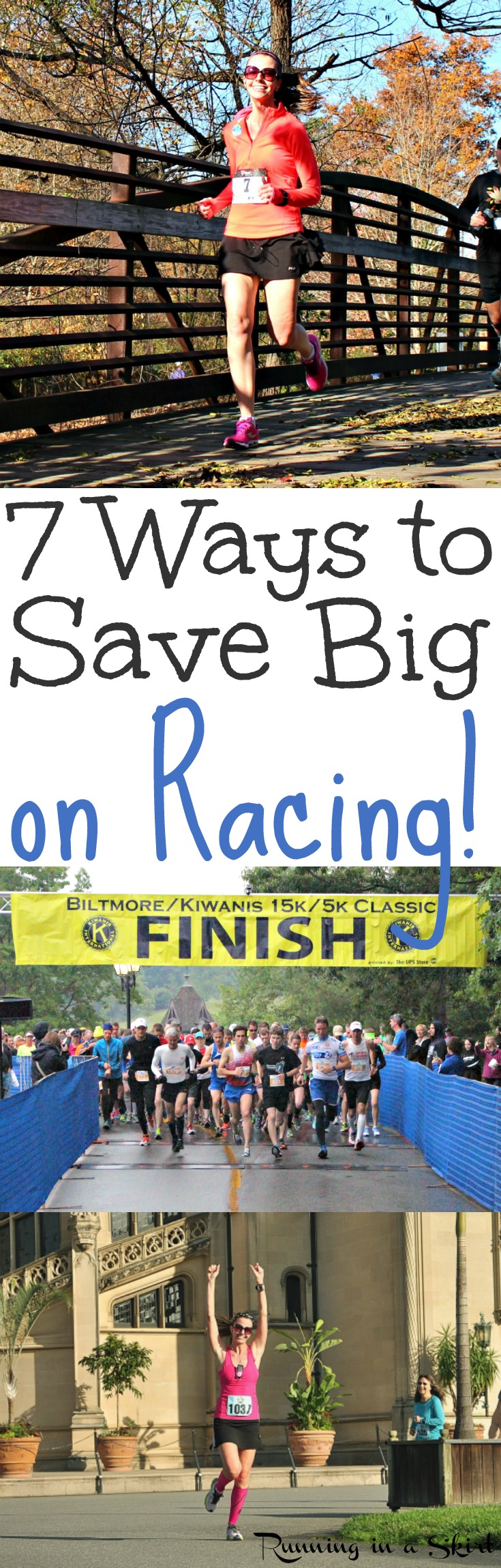 7 Ways to Save Big on Racing and run for less/ Running in a Skirt