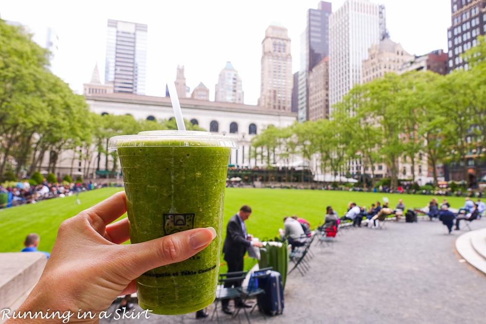 Best NYC Eats / Running in a Skirt