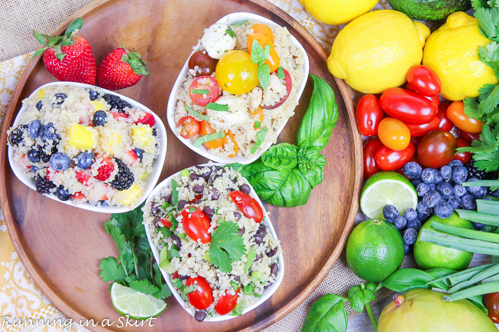 Pescatarian Meal Prep Quinoa Bowls