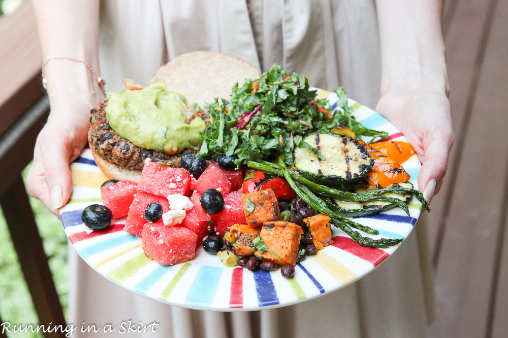 The Best Vegetarian Cookout Menu / Running in a Skirt