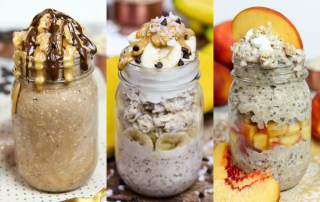 8 Dessert Overnight Oats that are actually good for you! ? Running in a Skirt