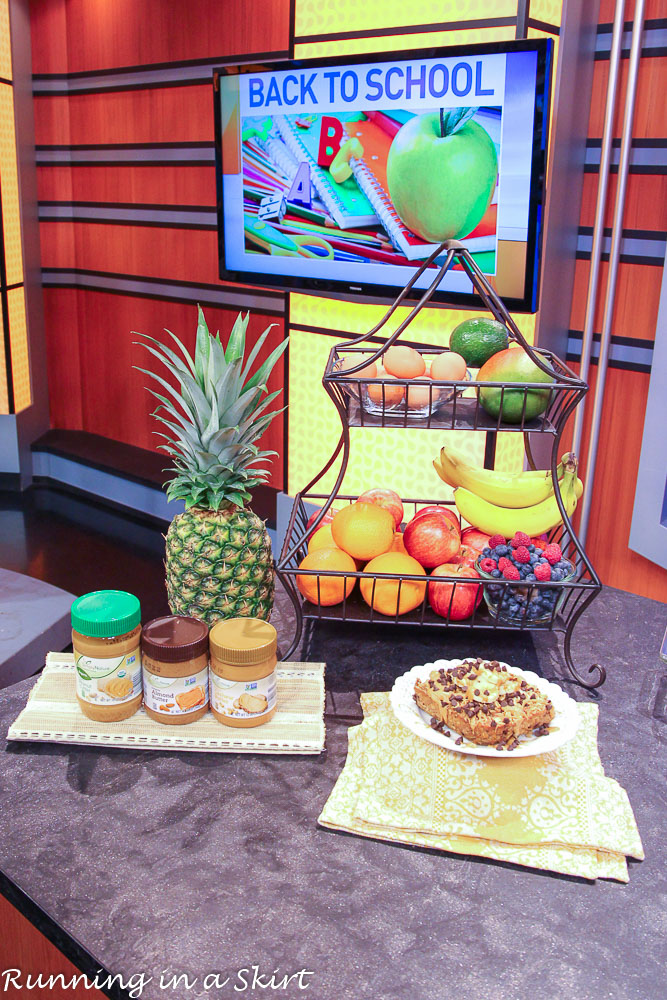 Simple Healthy Snacks for on the go! / Running in a Skirt
