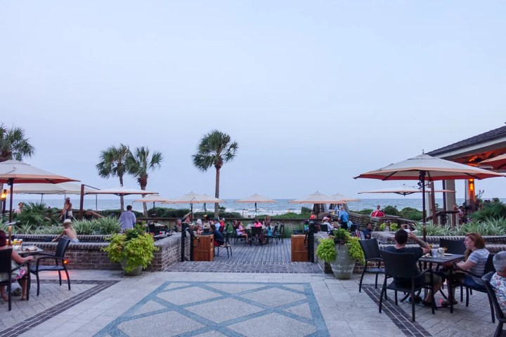 Best Restaurants on Hilton Head Island - Coast with waterview.