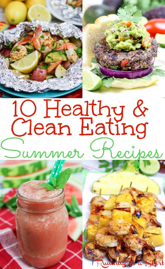 Clean Eating Healthy Recipes for Summer /Running in a Skirt