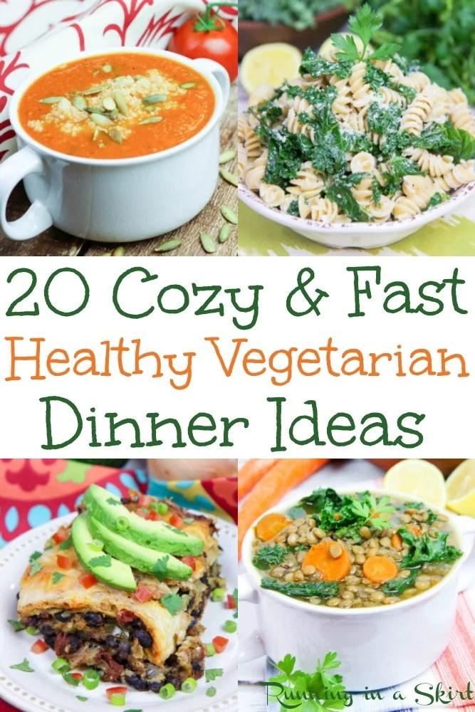 20 Cozy Fast Vegetarian Dinners