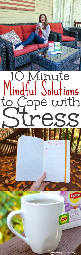 Mindful Simple Ways to Destress / Running in a Skirt