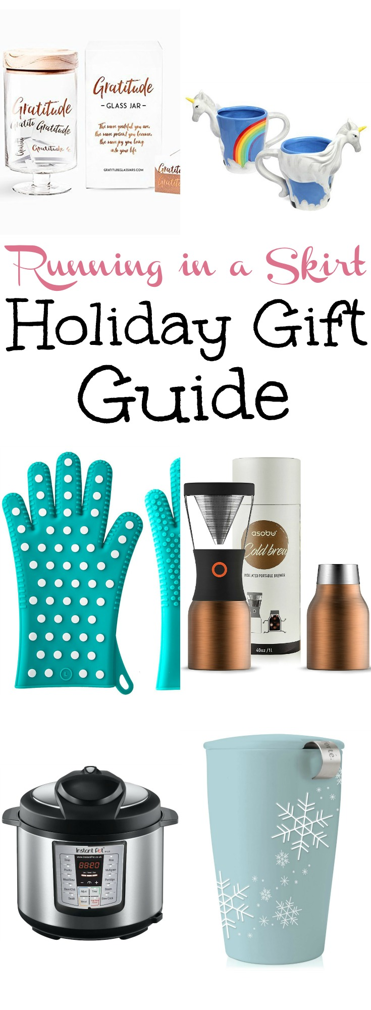 2017 Holiday Gift Guide for Her!  Includes cute gift ideas for women at any price point. / Running in a Skirt via @juliewunder