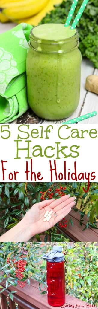 Self Care Hacks for the Holidays