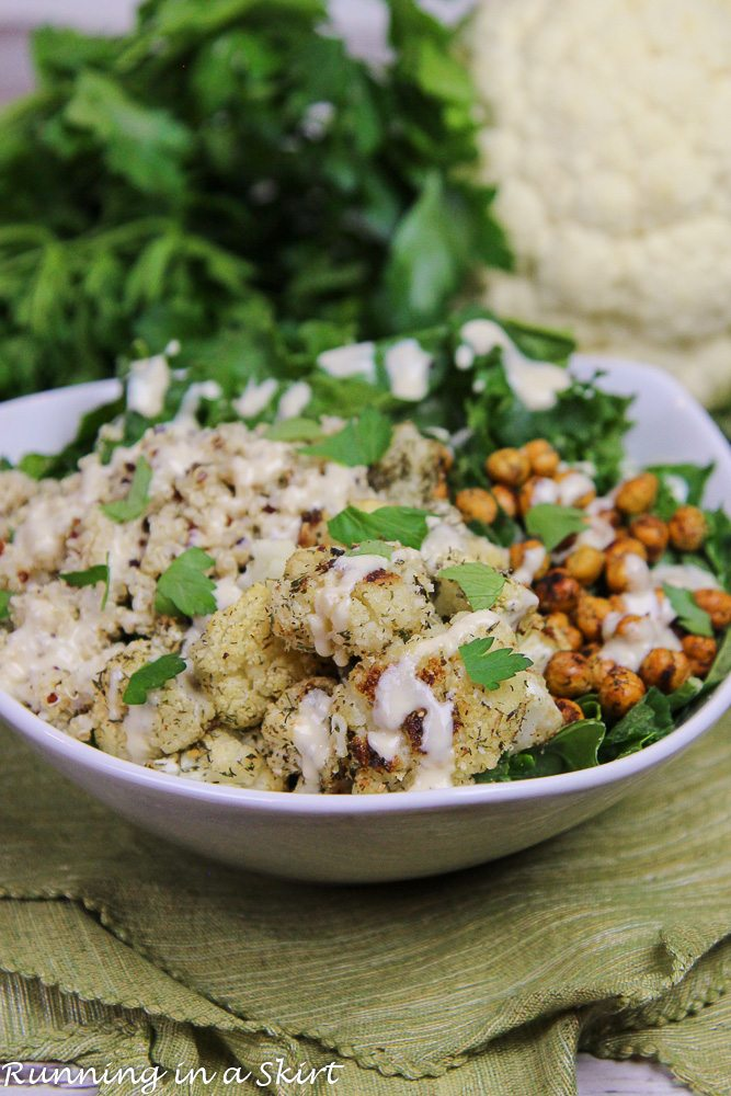 Roasted Cauliflower Salad recipe
