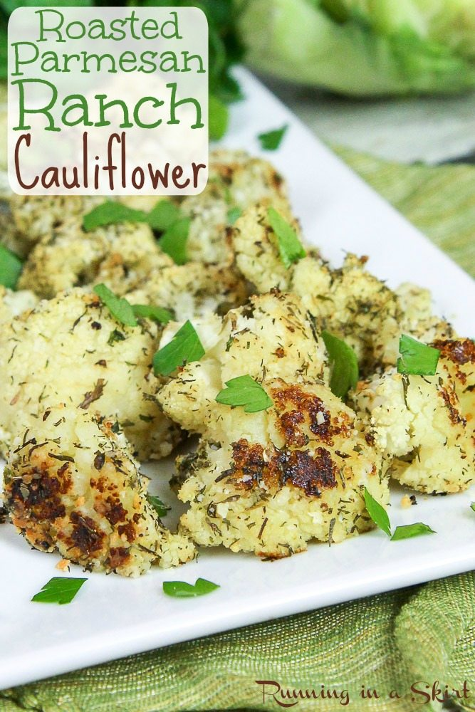 Roasted Parmesan Ranch Cauliflower recipe