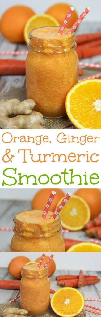 Anti Inflammatory Orange, Ginger & Turmeric Smoothie recipe