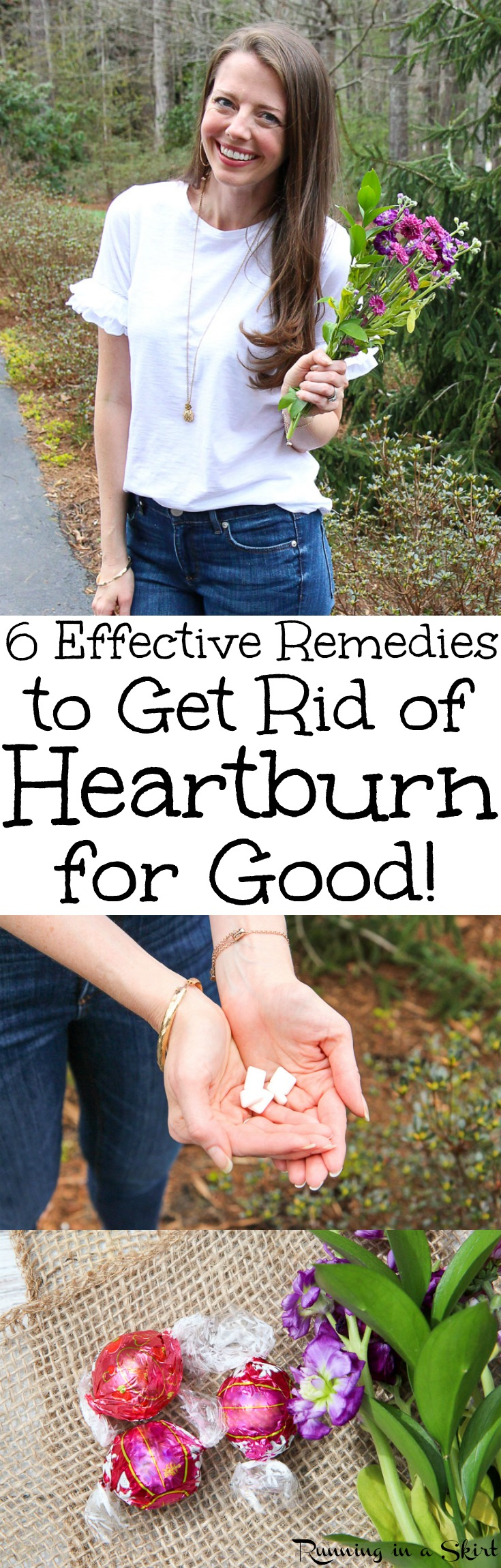 6 Effective Remedies for Heartburn Relief - How to Get Rid of Heartburn Symptoms for Good including triggers, diet ideas, home remedies, and the best medicine and medication to relieve the severe pain in back of your throat and improve your overall health. / Running in a Skirt AD via @juliewunder