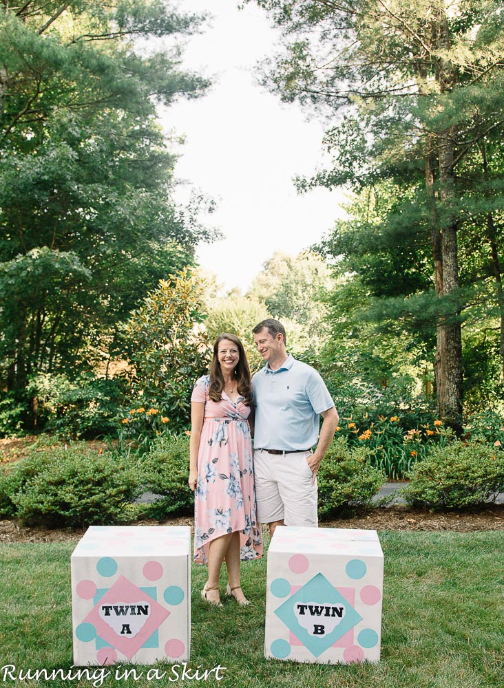 Gender Reveal Party for Twins via @juliewunder