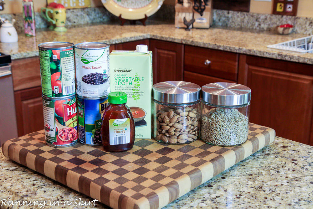 how to build a healthy pantry