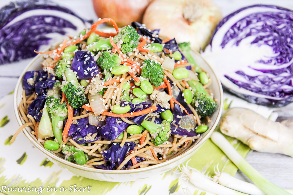 Healthy Vegetarian Lo Mein recipe