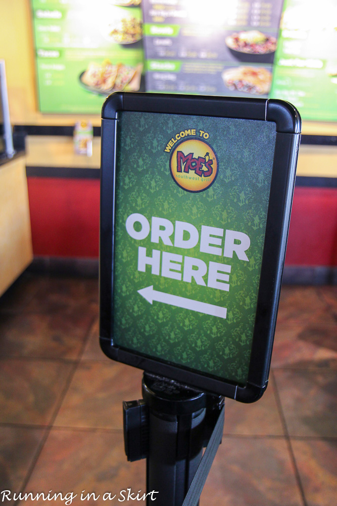 Moes Vegetarian Options