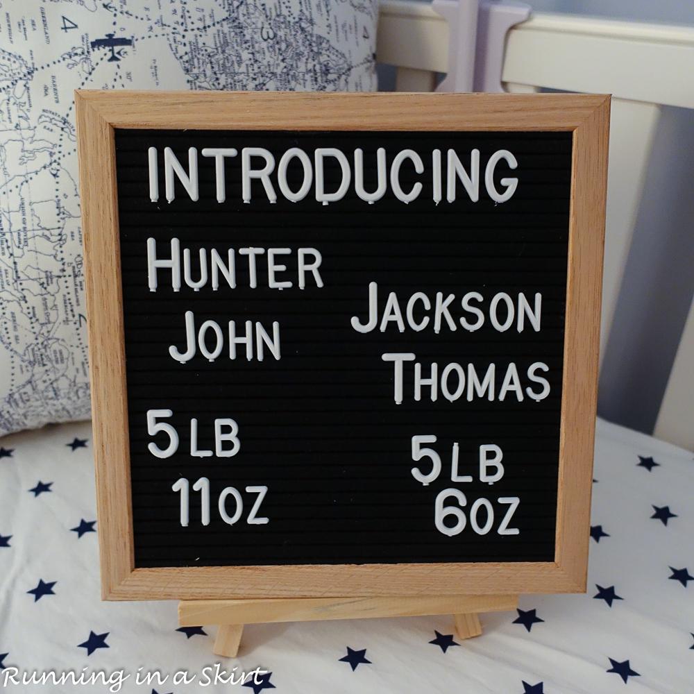 b39b54cad5d11a Introducing Hunter John & Jackson Thomas!   Running in a Skirt