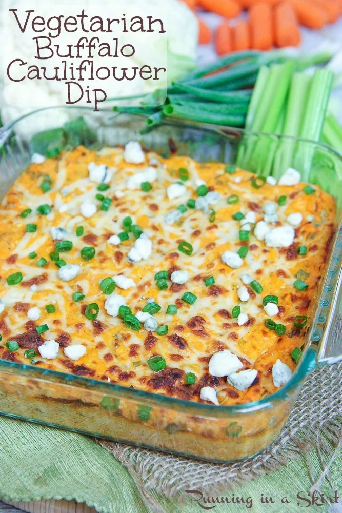 Healthy Buffalo Cauliflower Dip recipe