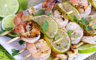 Honey Lime Shrimp Skewers recipe