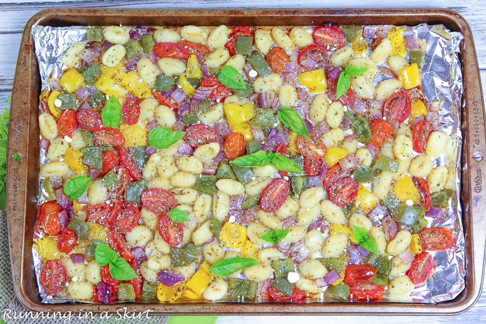 sheet pan gnocchi recipe